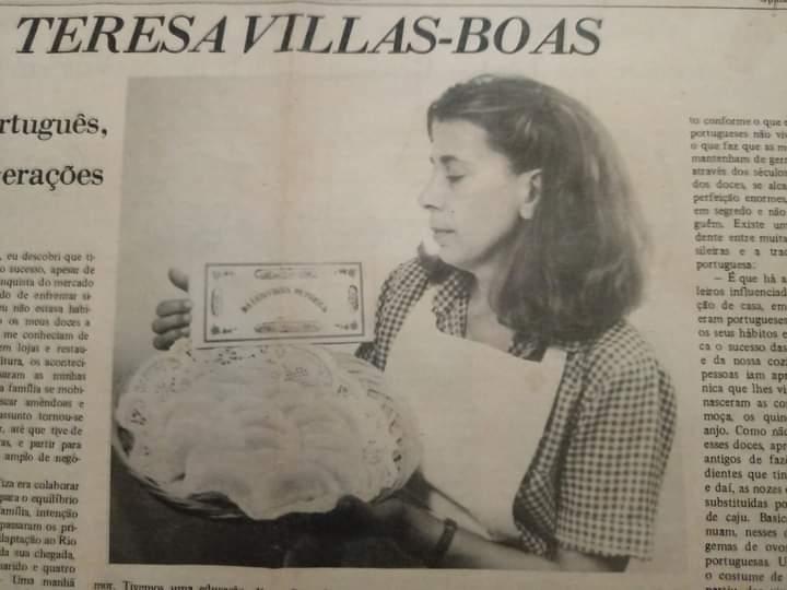 Maria Tereza Villas Boas, a Tisa